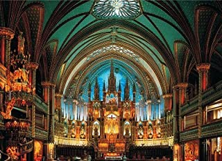 Tomax Notre Dame De Montreal, Canada 500 Piece Glow-in-the-dark Jigsaw Puzzle