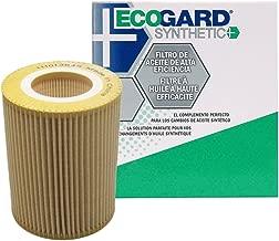 ECOGARD S5247 Cartridge Engine Oil Filter for Synthetic Oil - Premium Replacement Fits BMW 325i, X5, 325Ci, X3, 330Ci, 528i, 530i, Z3, 328i, 525i, 325xi, 323i, 330i, Z4, 330xi, 323Ci, 328is, 328Ci