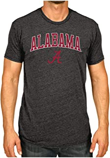 Elite Fan Shop NCAA Men's T Shirt Charcoal Soft Dual Blend
