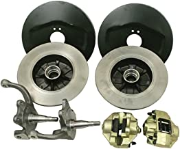 EMPI 22-2850-0 VW Bug Front Disc Brake Kit, 4/130, for Ball Joint Front Ends