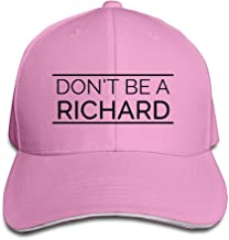 Sunshieldo Dont Be A Richard Baseball Hat