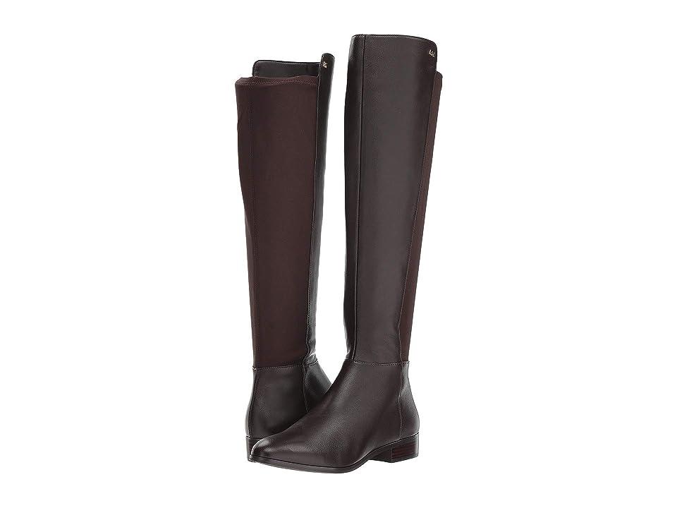 MICHAEL Michael Kors Bromley Flat Boot (Coffee Nappa/Sensitive Stretch) Women