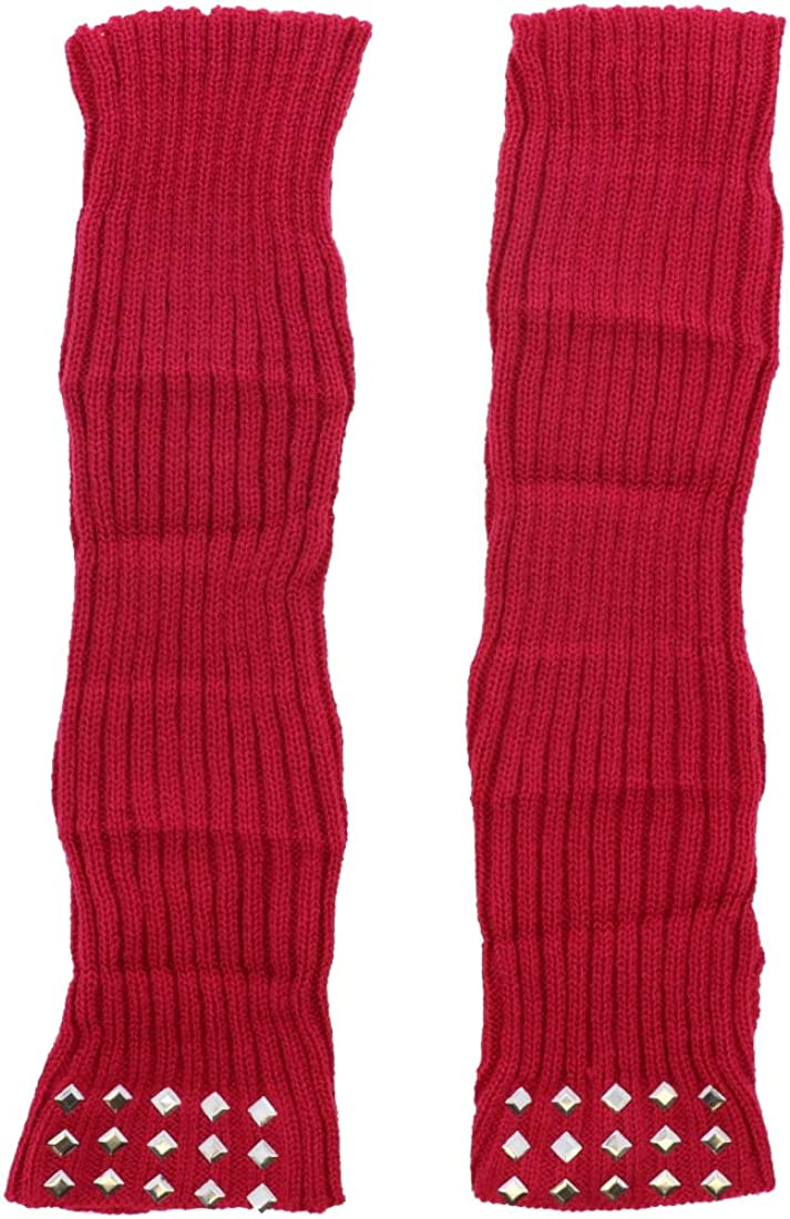 Layered Arm Warmer with Studs New Now free shipping product type Fingerless for Gloves - Women Hot