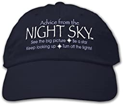 Advice from the Night Sky - Embroidered Novelty Hat, by Earth Sun Moon