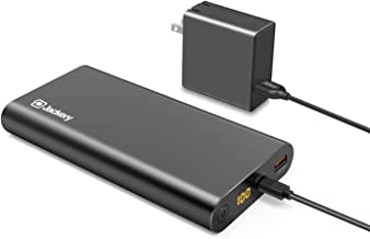 Jackery Supercharge 26800 PD, 26800mAh Portable Charger Power Outdoors USB C 45W Power Bank & 45W Wall Charger for iPhone 8/ X, Nexus 5X 6P, USB C Laptops(e.g.MacBook) Nintendo Switch [Power Delivery]