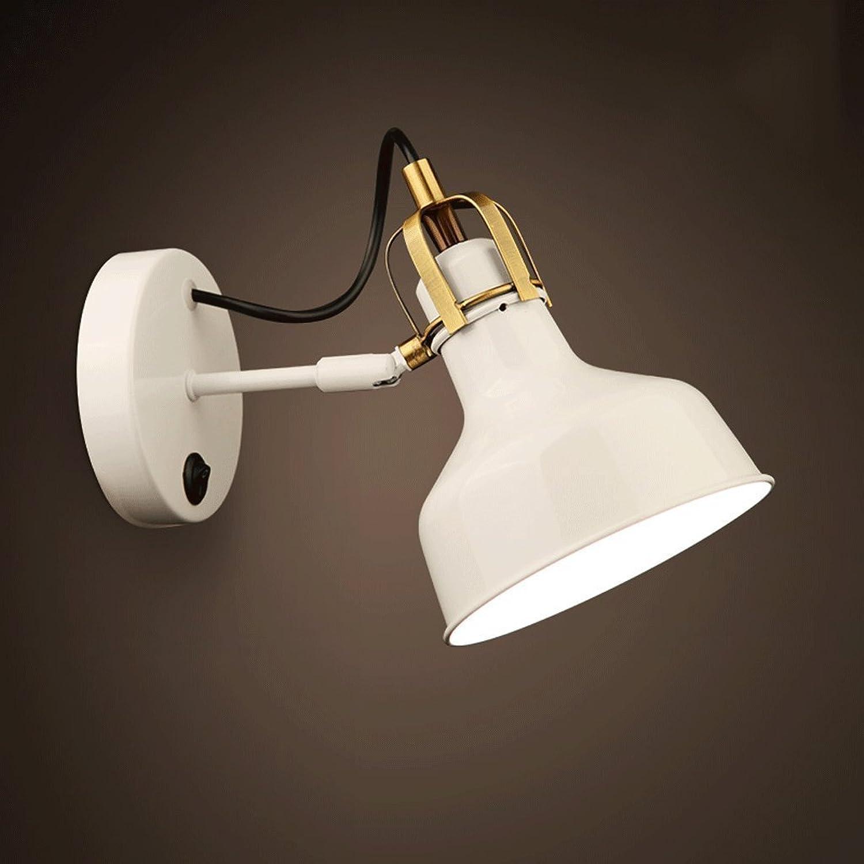 MoMo Moderne einfache Einzelne Hauptwand-Lampen-kreativer Eisen-Schlafzimmer-Gang-Balkon führte Nachttischlampe