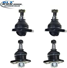DLZ 4 Pcs Front Suspension Kit-2 Lower 2 Upper Ball Joint Compatible with Chevrolet S10 Pick-Up 4WD 1998-2003