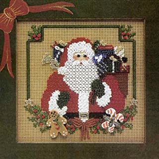 counted cross stitch santa claus