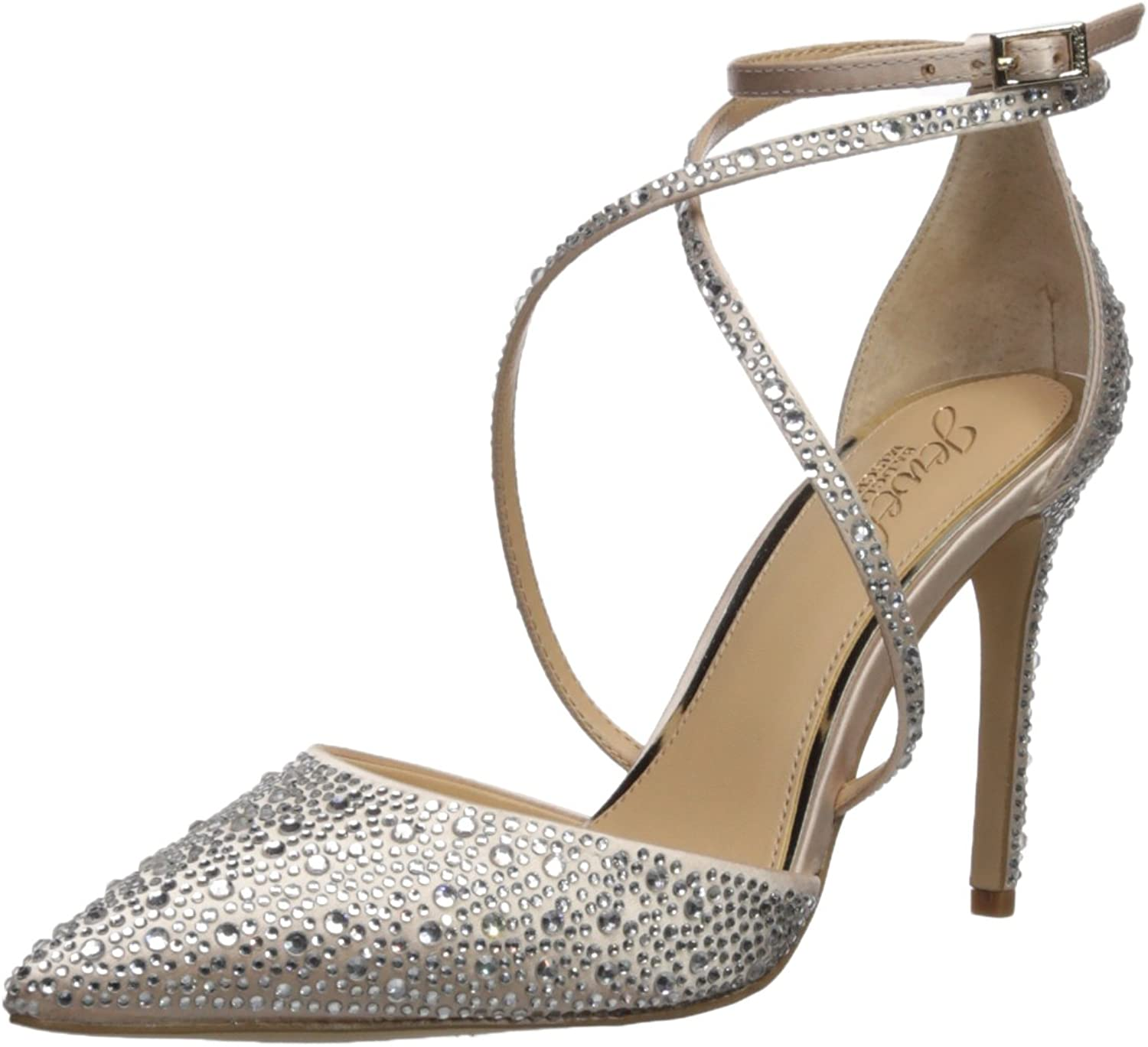 Badgley Mischka Womens Tanya Pump