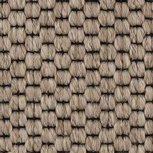 Teppichboden Auslegware | Sisal-Optik Schlinge | 400 und 500 cm Breite | beige | Meterware, verschiedene Größen | Größe: 1,5 x 5 m