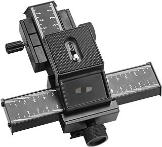 Camera Tripod 4 طريقة ماكرو تركيز نظام السكك الحديدية العالمي للكاميرا عن قرب اطلاق النار رئيس ترايبود مع 1/4 برغي ل dslr ...