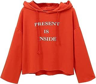 Ynalxfohnz Gilmore Girls Printed Womens Sweatshirt Pullover Crewneck Causal Suelta Sudaderas con Capucha de Manga Larga