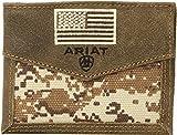 Ariat Unisex-Adult's Patriot Digital Camo Bifold Wallet, brown