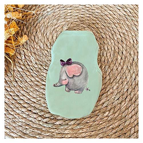 Chaleco para mascotas de verano a rayas, accesorio de perro, duradero, sin mangas, ropa de perro, ropa de verano delgada para gato (color: 8, tamaño: XXL) ggsm