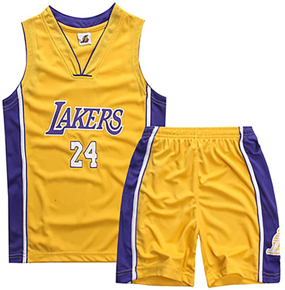 Los Angeles Lakers Kobe Bryant #24 Men's Basketball Shorts Jersey ...