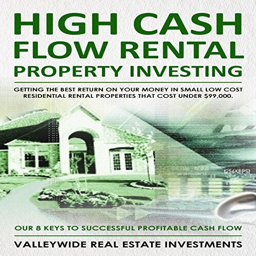 High Cash Flow Rental Property Investing audiobook cover art