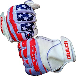 Clutch Sports Apparel Baseball and Softball Batting Gloves
