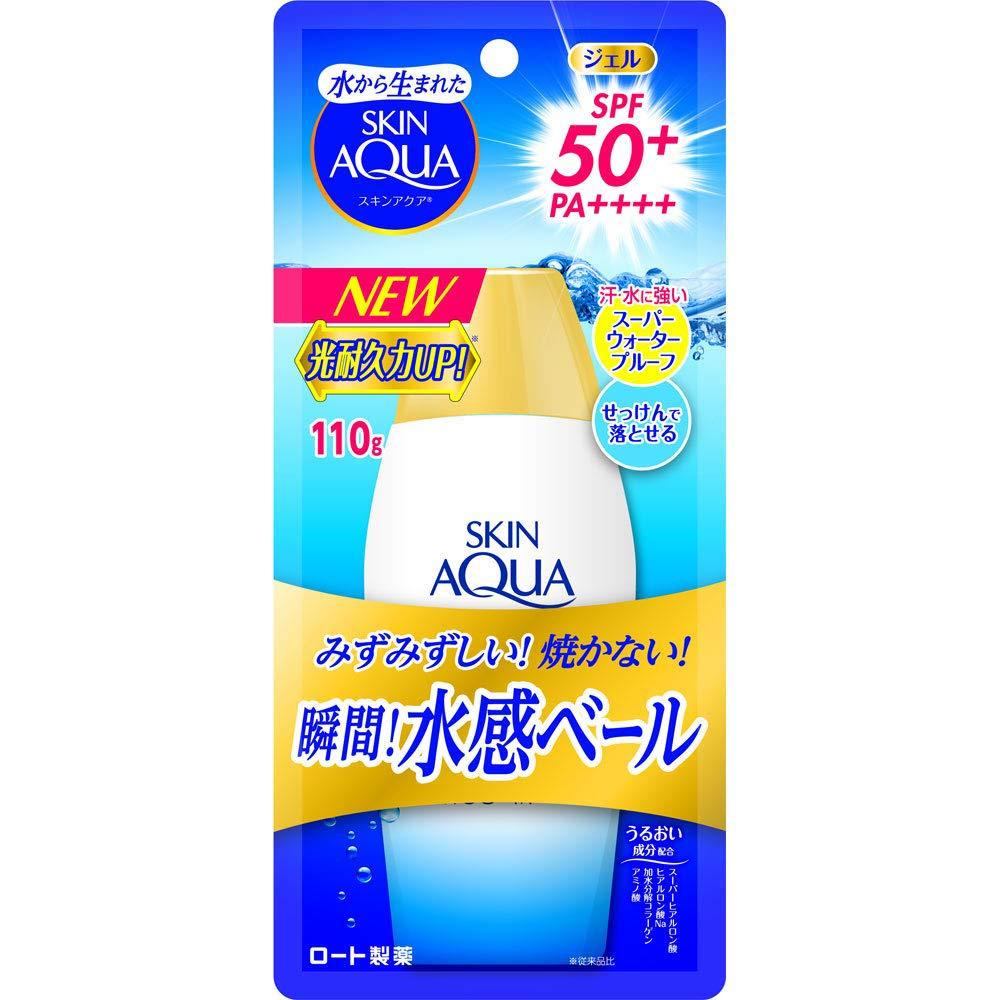 Skin Ranking TOP3 Aqua Rohto Sale price Newer Model Super SPF50+ Gel PA+ - Moisture 110g