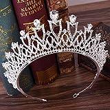 Tiare Da Donna Copricapo Da Sposa In Cristallo Principessa Corona Accessori Per Capelli Da Sposa-D