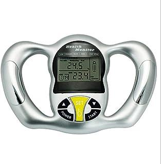ZYJ Medidor de Grasa de IMC de Mano Digital electrónico - Máquina analizadora de índice de Masa Corporal con Pantalla LCD de Lectura, Monitor preciso portátil de 6 Segundos