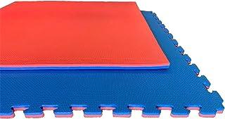 comprar comparacion Jardin202 Espesor: 20mm - Lote x5 losetas Tatami Puzzle - Rojo/Azul