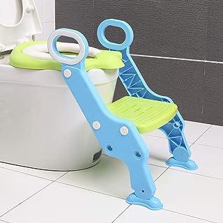 LWYJ Baby Kleinkind Kinder T/öpfchen Verstellbarer Toilettentopf Trainersitz mit Trittleiter Stuhl Anti-Rutsch f/ür M/ädchen und Jungen