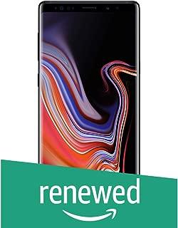 (Renewed) Samsung Galaxy Note 9 (Midnight Black, 128GB Memory) with Offer