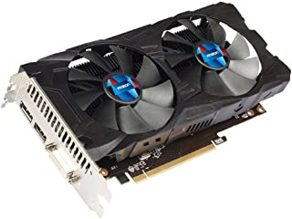 Littleice Yeston Radeon RX 550 GPU 4GB GDDR5 128ビット ゲームデスクトップコンピュータ PC ビデオグラフィックスカード DVI/HDMI GC対応 ブラック