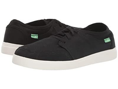 Sanuk Vagabond Lace Sneaker (Black) Men