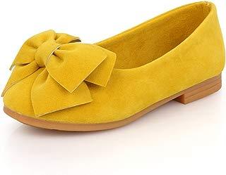 Maxu Little Girl's Bow Mary Jane Dress Shoe