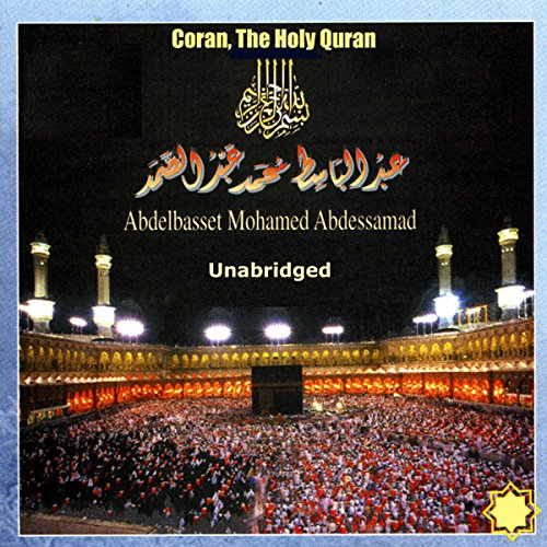 Coran, The Holy Quran audiobook cover art