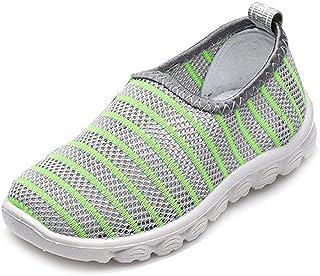 Antheron Kids Water Shoes Boys Girls Breathable Slip-On Summer Pool Beach Mesh Sneakers (Toddler/Little Kid)
