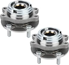 2pcs Front Wheel Hub Bearing Assembly Driver and Passenger Side with 5 Lugs w/ABS 4 Mating Bolt Holes Fit for Nissan Murano Pair 2003-2007 and for Nissan Quest Pair 2004-2009,513310