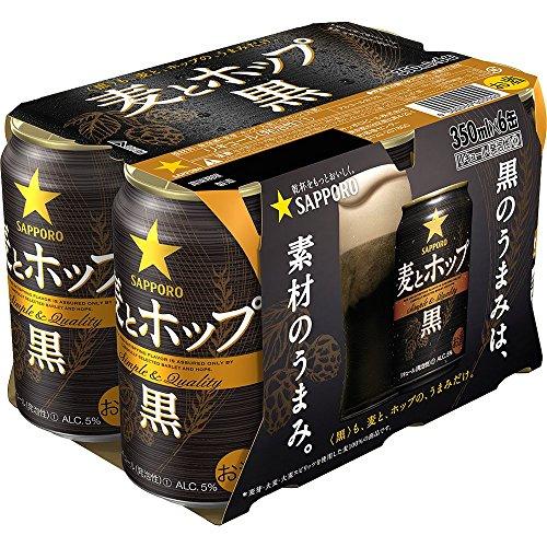 【新ジャンル】サッポロ 麦とホップ 350ml×6本