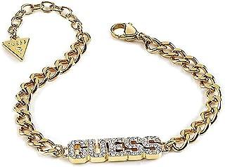 Bracciale Indovinate Collegio 1981 UBB20036-S placcati oro lettere in acciaio inossidabile marchio Swarovski
