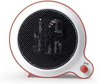 Moolo Calefactor, Mini Cerámica Calefacción Eléctrica Seguro y Ahorro de Energía Escritorio de Invierno Oficina en Casa Baño R03
