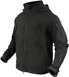 Condor Summit Zero Men's Lightweight Soft Shell Jacket, Black, XXXL 609-002-XXXL