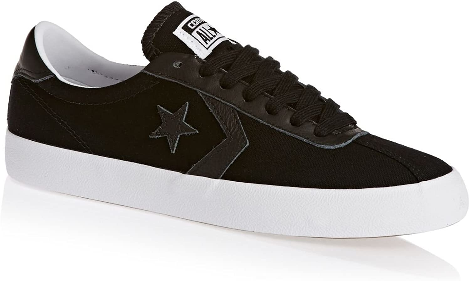 Converse Womens Breakpoint Ox Canvas Trainers Black