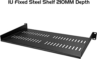Ares Vision 350mm Heavy Duty 19'' Wide Sliding Shelf for 600MM Server Cabinet. (210MM Fixed)