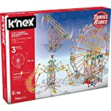 K'NEX Thrill Rides - 3-in-1 Classic Amusement Park Building Set, Multicolor