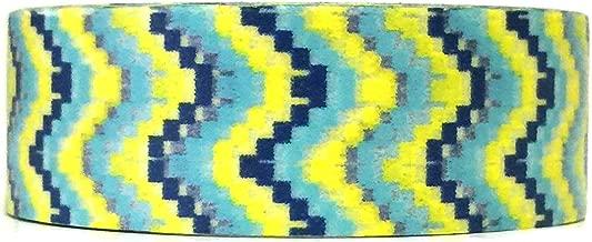 Wrapables Colorful Patterns Washi Masking Tape, Digital Chevron