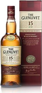 Glenlivet 格兰威特 15年单一麦芽威士忌 700ml(英国进口)(亚马逊自营商品, 由供应商配送)