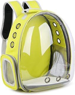 JEBBLAS pet Capsule Carrier Astronaut Pet Cat Dog Puppy Carrier Travel Bag Space Capsule Backpack Breathable