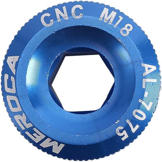 Copri pedivella in Lega di Alluminio NAYAO Bulloni BB per Bicicletta M18 M20 Copri bullone manovella del Movimento Centrale M19
