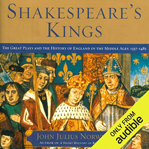 Shakespeare's Kings audiobook cover art