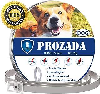 comprar comparacion PROZADA Natural Collar Antiparasitario para Perros (8 Meses) Prevención de Pulgas y Garrapatas - con Extractos de Plantas ...