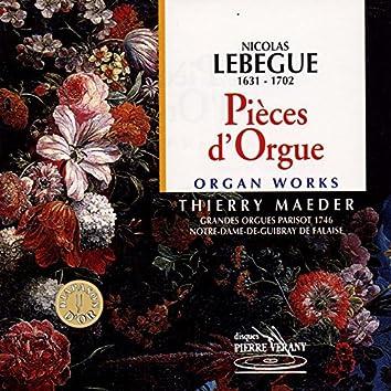 Lebègue : Pièces d'orgue