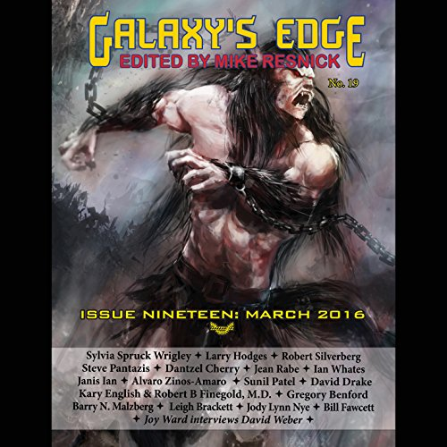 Galaxy's Edge Magazine: Issue 19, March 2016 Titelbild