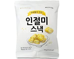 ShinHwaDang's Injeolmi Roasted Rice Snack Pack, (신화당 인절미 스낵), 20 Count (Pack of 1)
