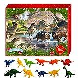 Emeili Calendario De Adviento De Navidad, Juego De Juguetes Modelo De Dinosaurio, Calendario De Cuenta Regresiva De Navidad 2020, Juguetes De Dinosaurios Realistas, Regalos para Niños
